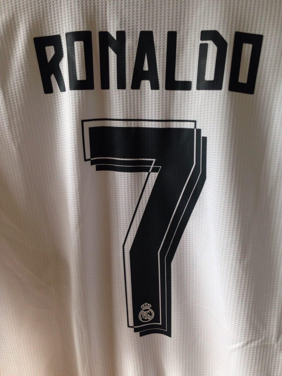 the best attitude fbb86 6292b Jersey Real Madrid Cristiano Ronaldo Local adidas M Original