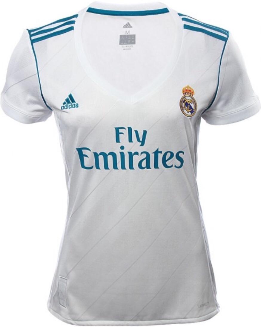 a34a0a575d302 Jersey Real Madrid Dama 2018 Local Mujer Envío Gratis -   598.00 en ...