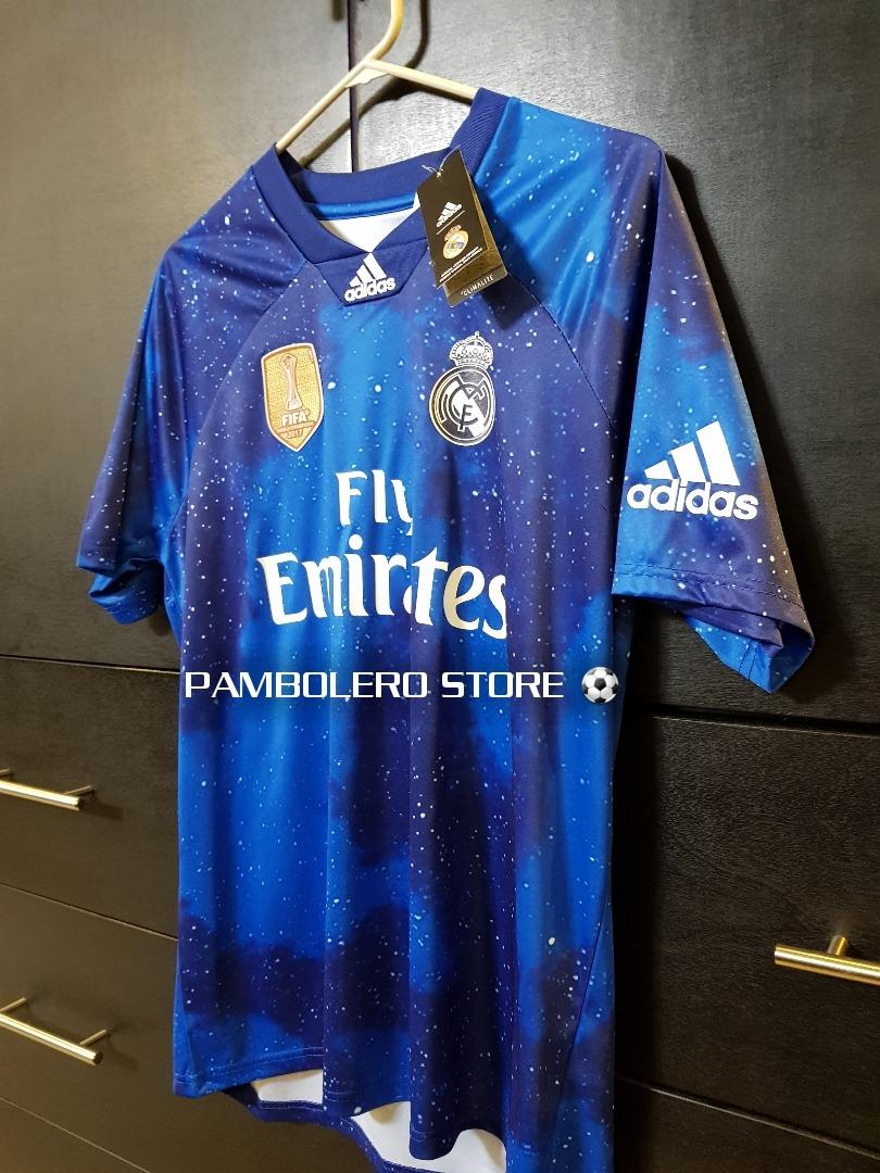 b2945e0d5 Jersey Real Madrid Ea Sports Fifa 19 Galáctico