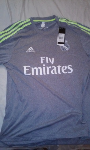 jersey real madrid gris