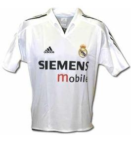 buy popular 6147e 78e0d Jersey Real Madrid Local 2005 Blanco #9 Ronaldo Merengues