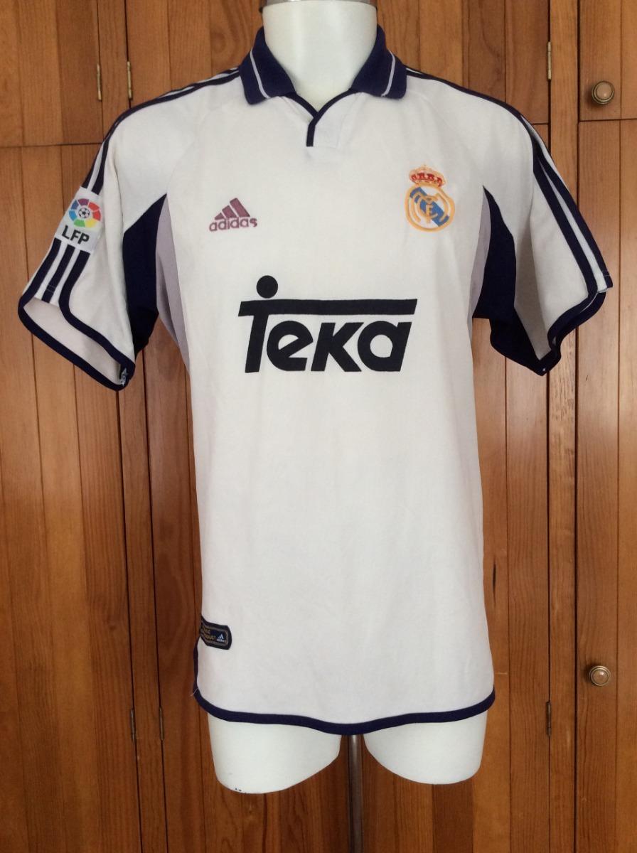 huge discount 01edb c419c Jersey Real Madrid Local Temporada 2000-2001 adidas De Época