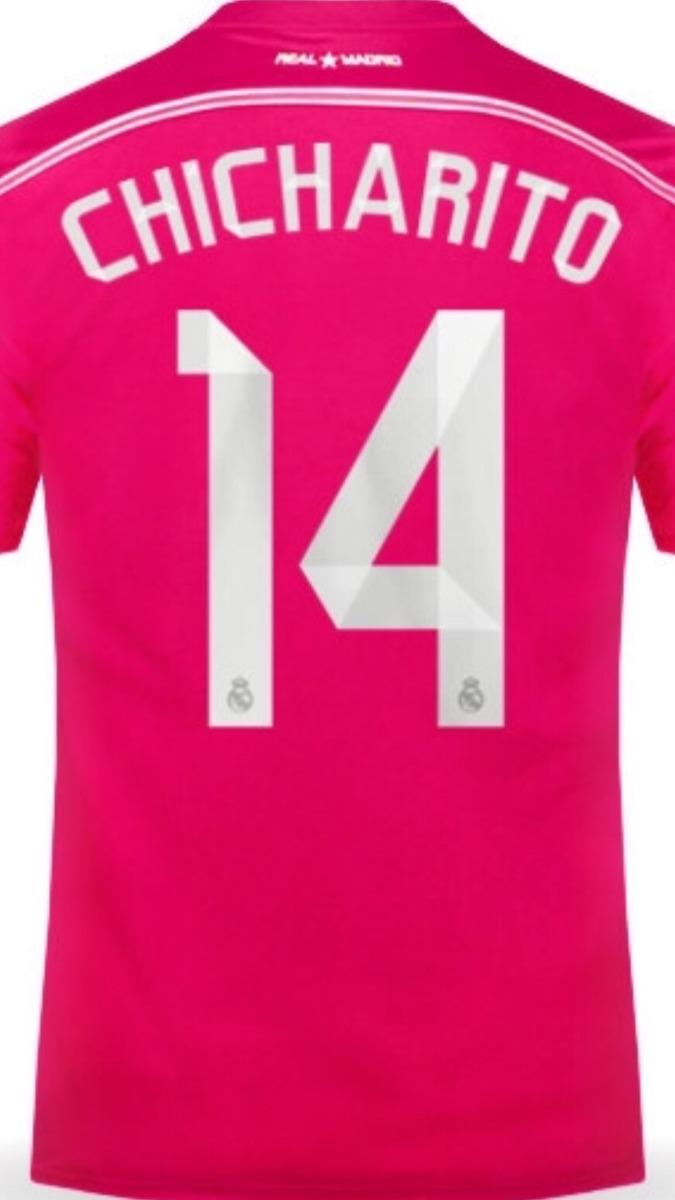 3db117730d623 jersey real madrid manga larga 2015 rosa chicharito env grat. Cargando zoom.