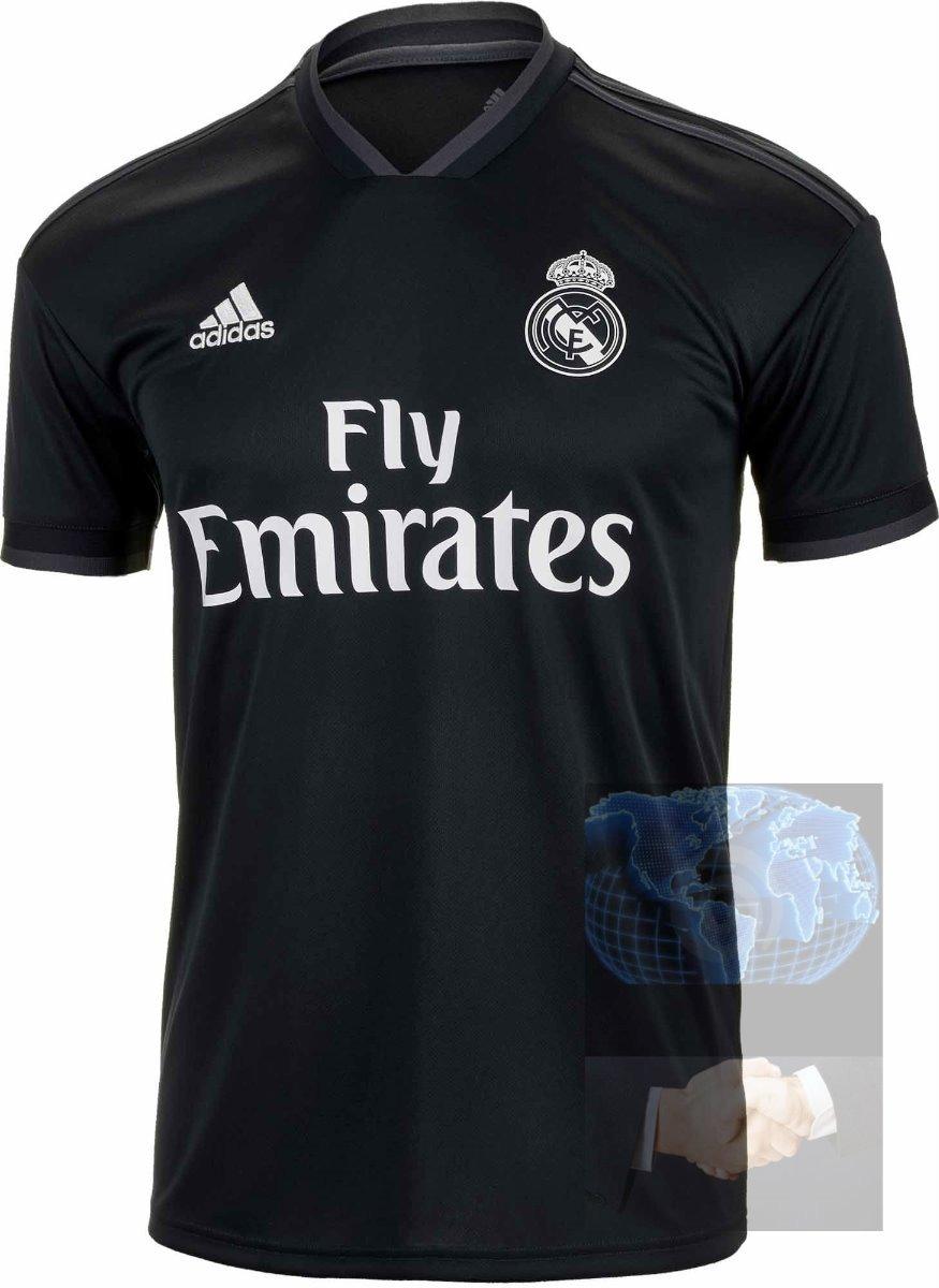 72fbaea8f444a jersey real madrid negra 2019 adidas visita nueva playera ca. Cargando zoom.