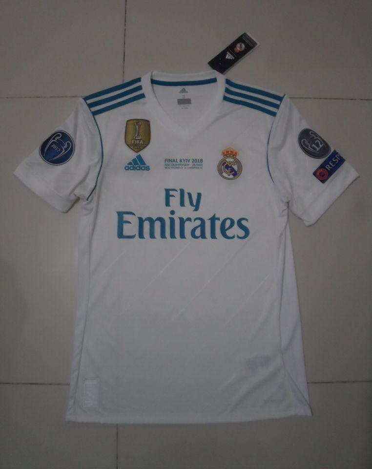 270e53aee Jersey Real Madrid Original Final Kiev