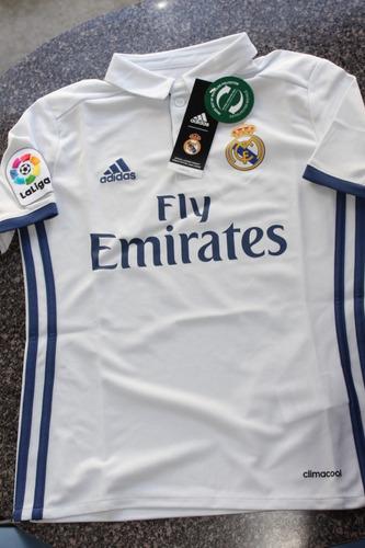 jersey real madrid para niño 2016 2017 100% original s y m