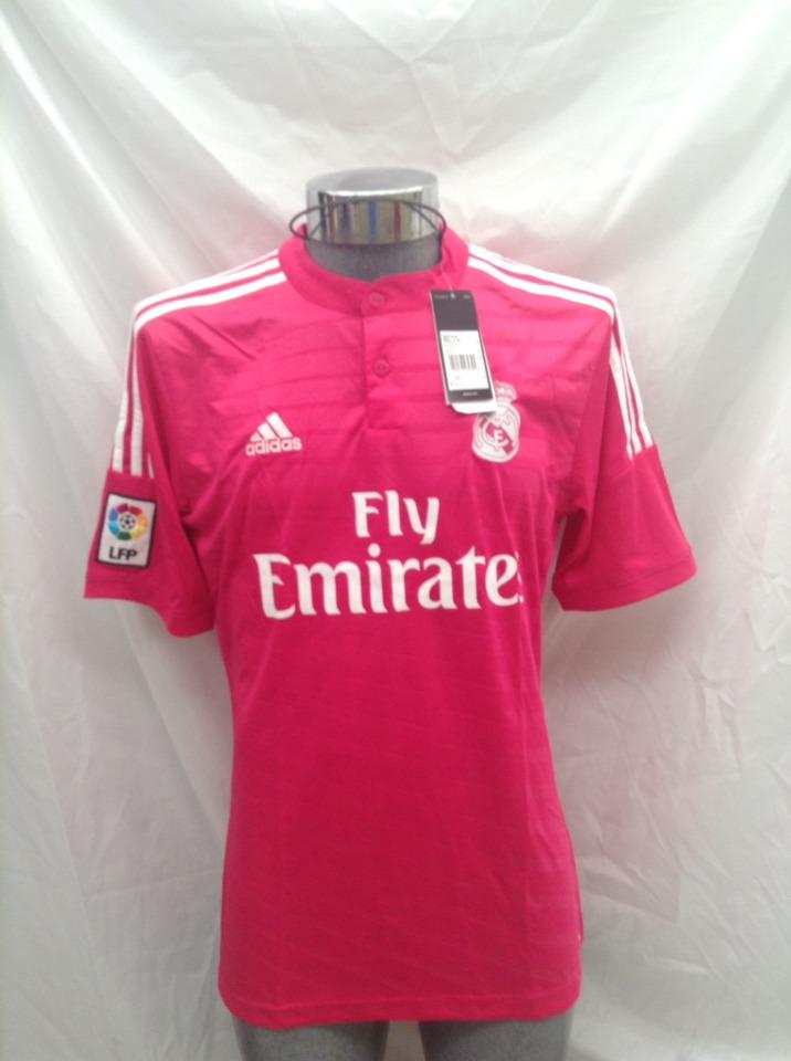 765b77e575a24 ... Jerseys · Clubes Europeos · Clubes Españoles · Real Madrid. Compartir.  Vender uno igual. Publicación pausada. jersey real madrid rosa. Cargando  zoom.