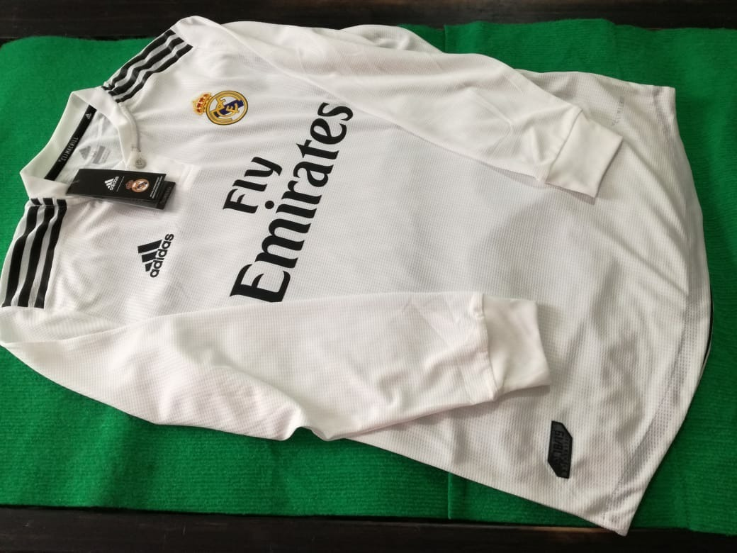 7891986be951c Jersey Real Madrid Version Jugador Manga Larga -   700.00 en Mercado ...