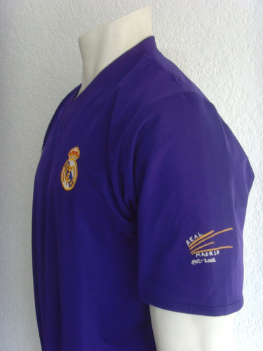 jersey real madrid zidane - 2002 / 2003 doble tela