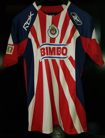 check out 3315b 3c9af Jersey Reebok Chivas Local 2009 Chicharito Talla S