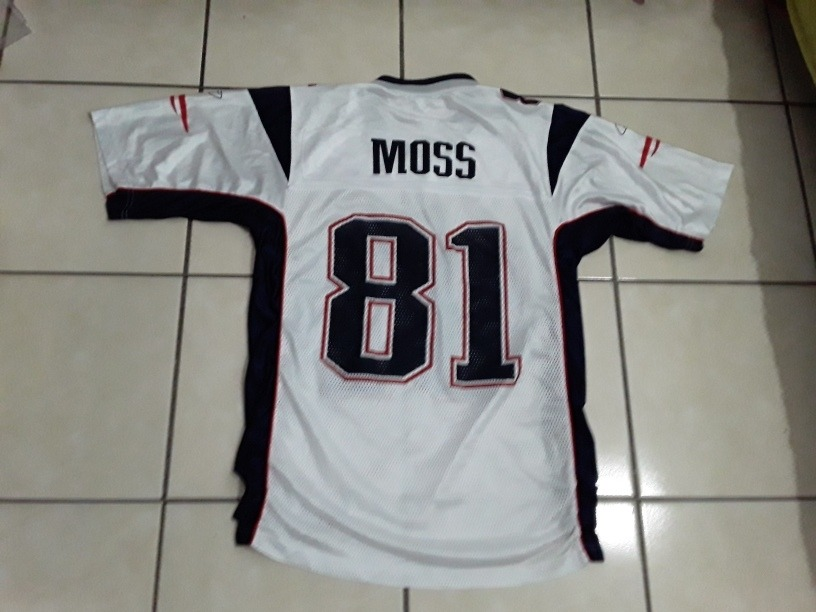 the best attitude bf613 e2186 Jersey Reebok New England Patriots Brady Randy Moss - $ 550.00