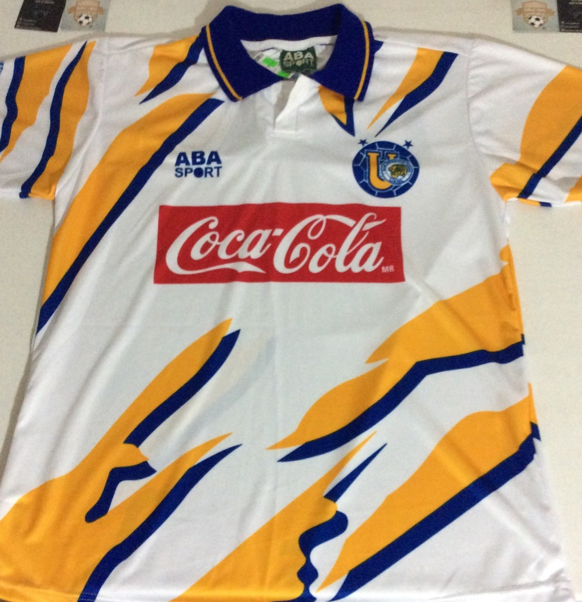 new products 54cad 33326 Jersey Retro Aba Sport Tigres Uanl 95-96, Tercer Uniforme
