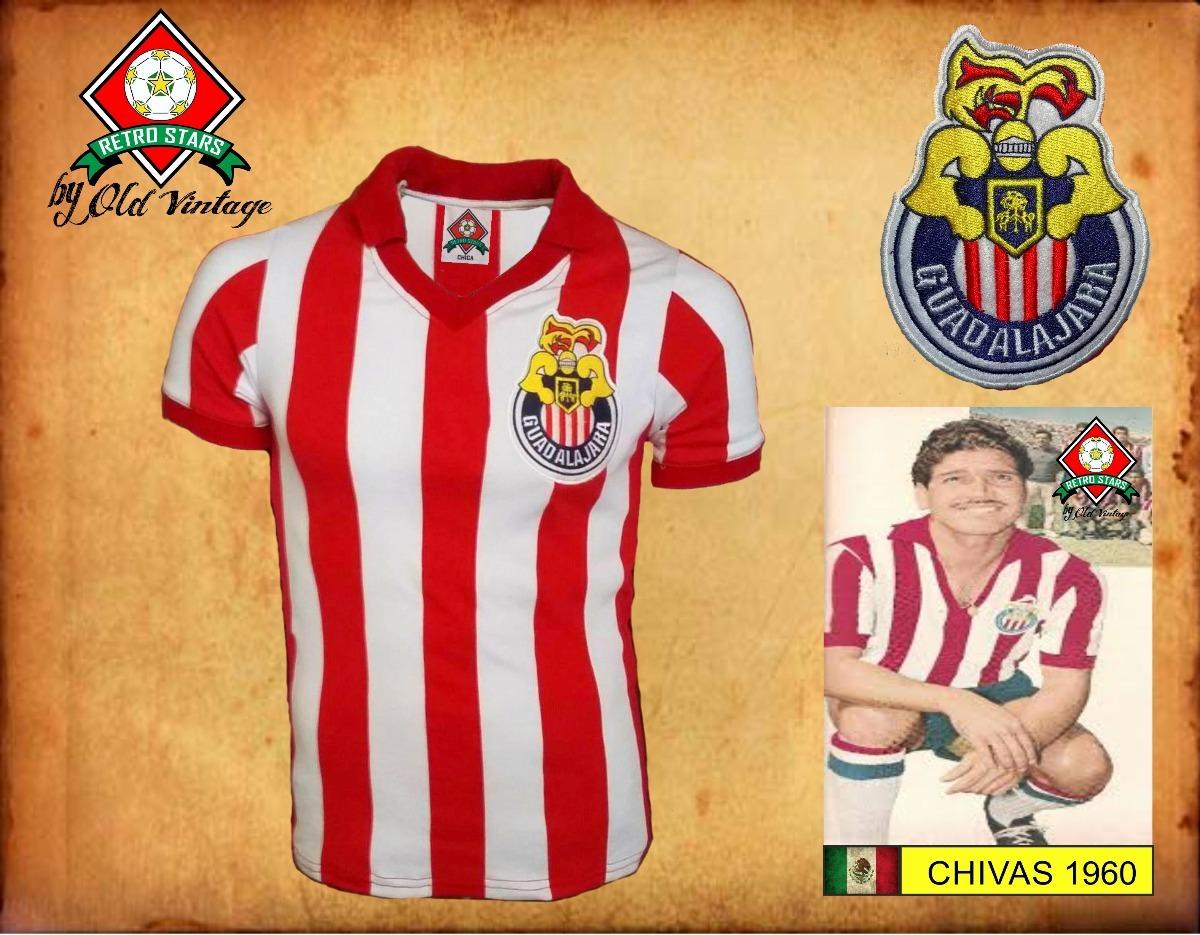 pretty nice fe7fc ca575 Jersey Retro Chivas 1960