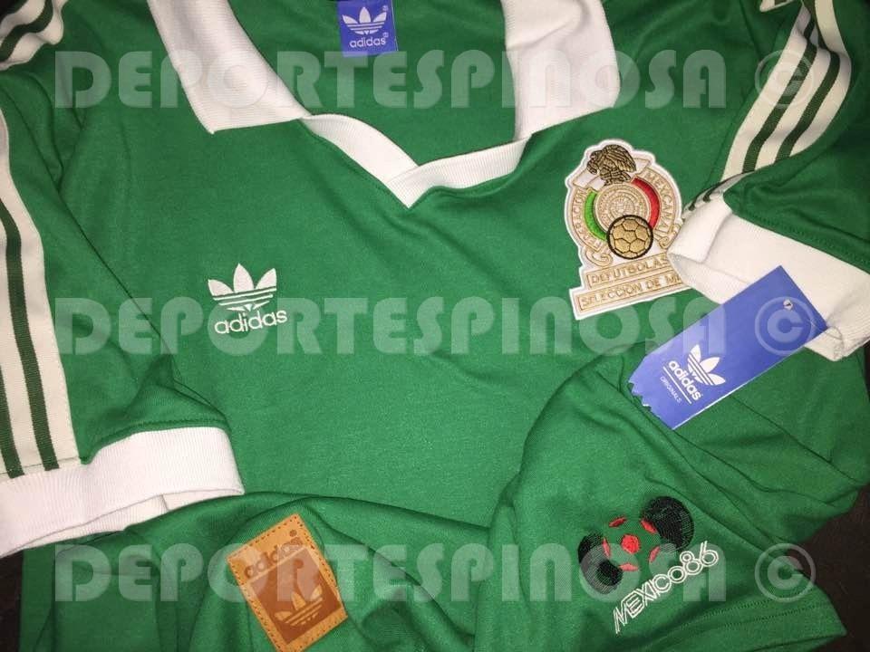 3c5d74041c629 Jersey Retro Mexico 86 adidas Local  9 Hugo Sanchez -   599.00 en ...