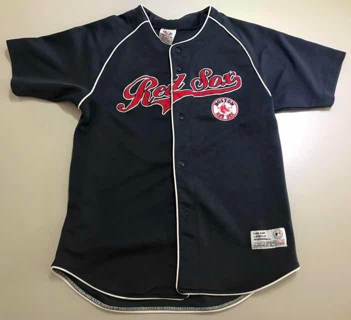 brand new 2afe1 29447 Jersey Retro Mlb Boston Red Sox Xl Boys 100