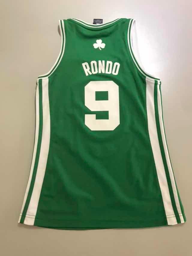 hot sale online 03e8f fa60e Jersey Retro Nba Boston Celtics Rondó S 162