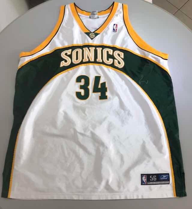 the best attitude c8127 0d853 Jersey Retro Nba Seattle Sonics Allen 3xl 150