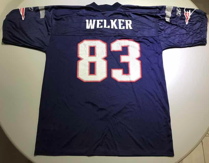 Jersey Retro Nfl New England Patriots Welker L 402 -   500.00 en ... 9d8c7b3a5