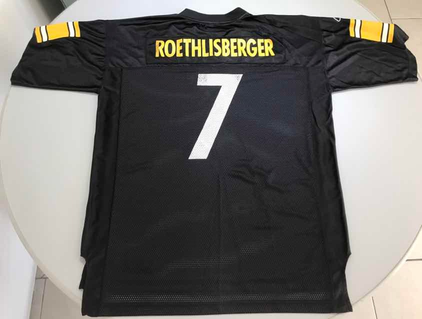 free shipping fc59c 149a2 Jersey Retro Nfl Pittsburgh Steelers Rotlisberger Xl 39