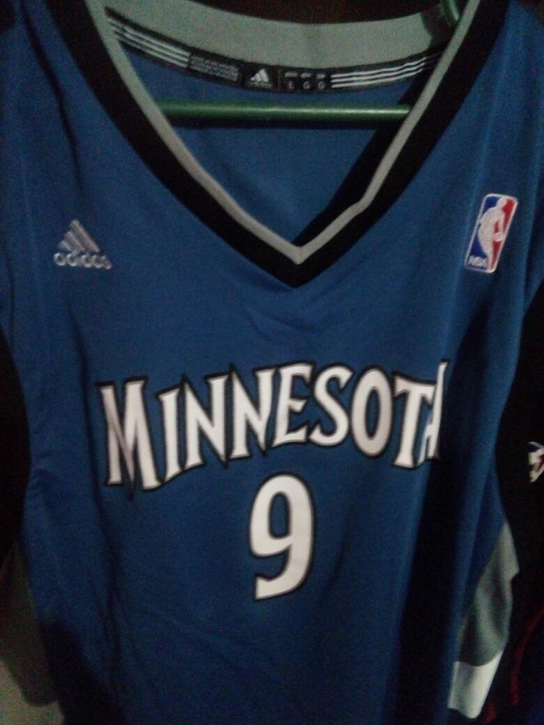 promo code 30af6 da515 Jersey Ricky Rubio Minnesota Timberwolves adidas Original