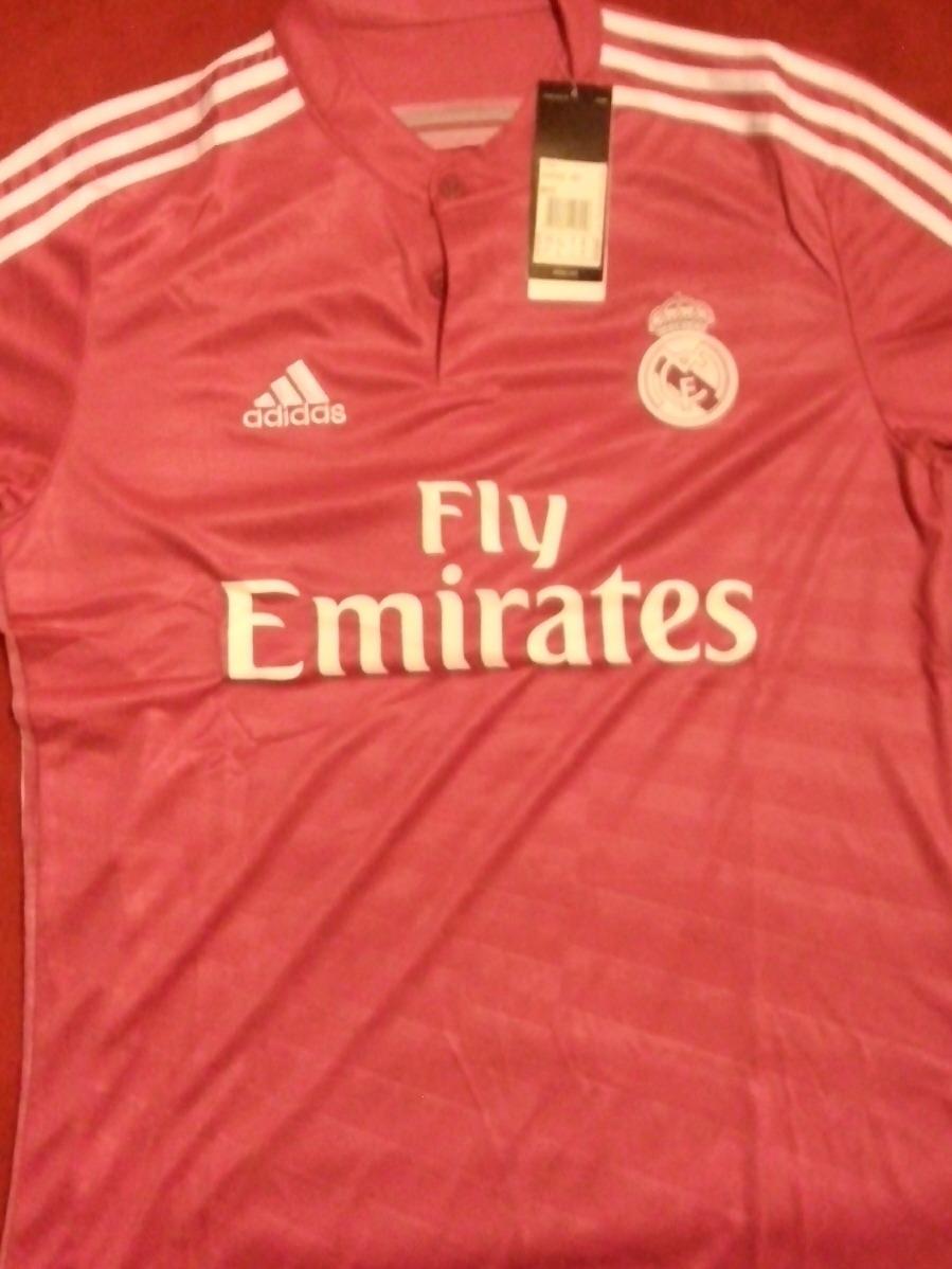 11ab91d86a476 ... Jerseys · Clubes Europeos · Clubes Españoles · Real Madrid. Compartir.  Compartir. Vender uno igual ¡gratis! jersey rosa real madrid. Cargando zoom.