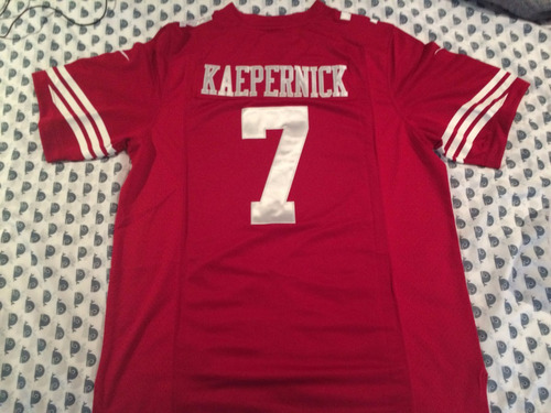 big sale 13981 8a0ba Jersey San Francisco 49´s Qb Colin Kaepernick Nike Elite