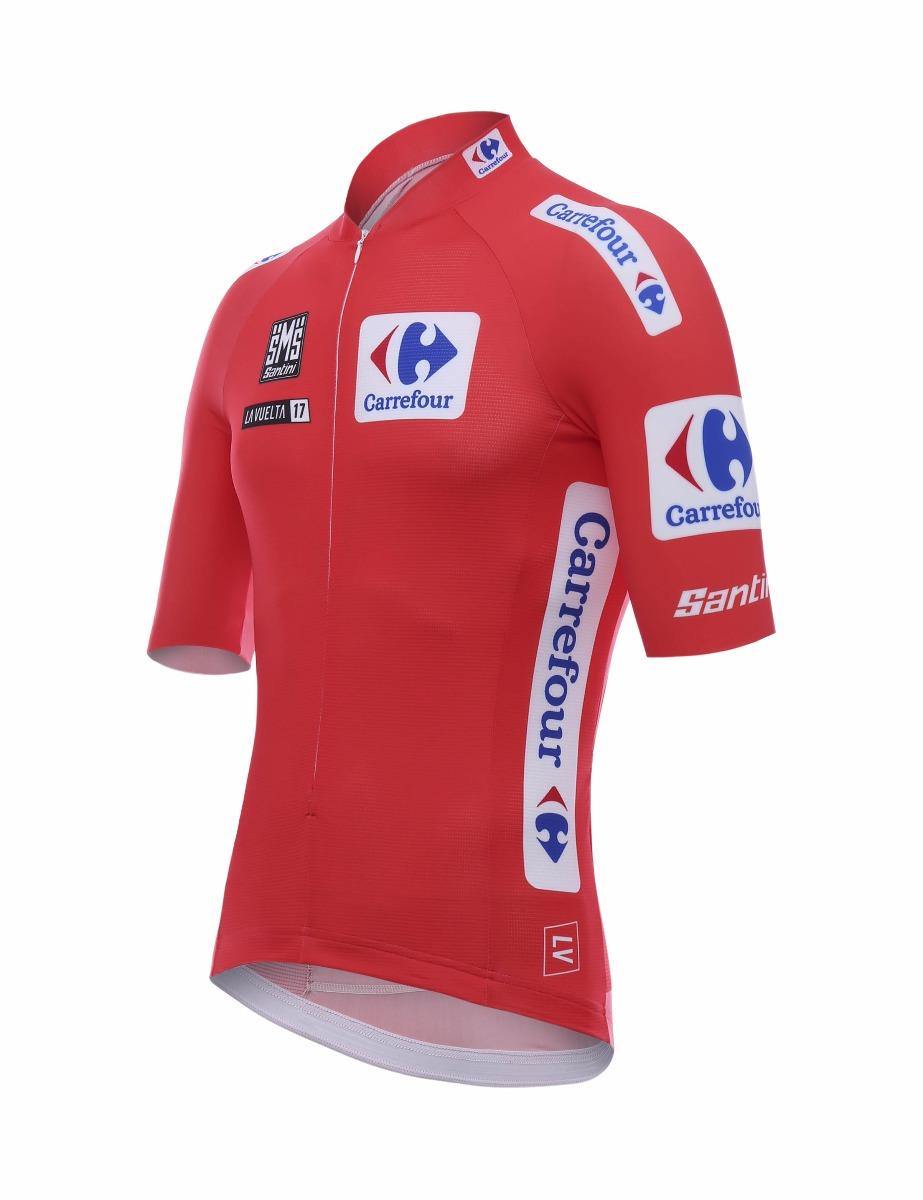 Jersey Santini Sms Vuelta De España 2017 Carrefour Original ... a84e9b59c