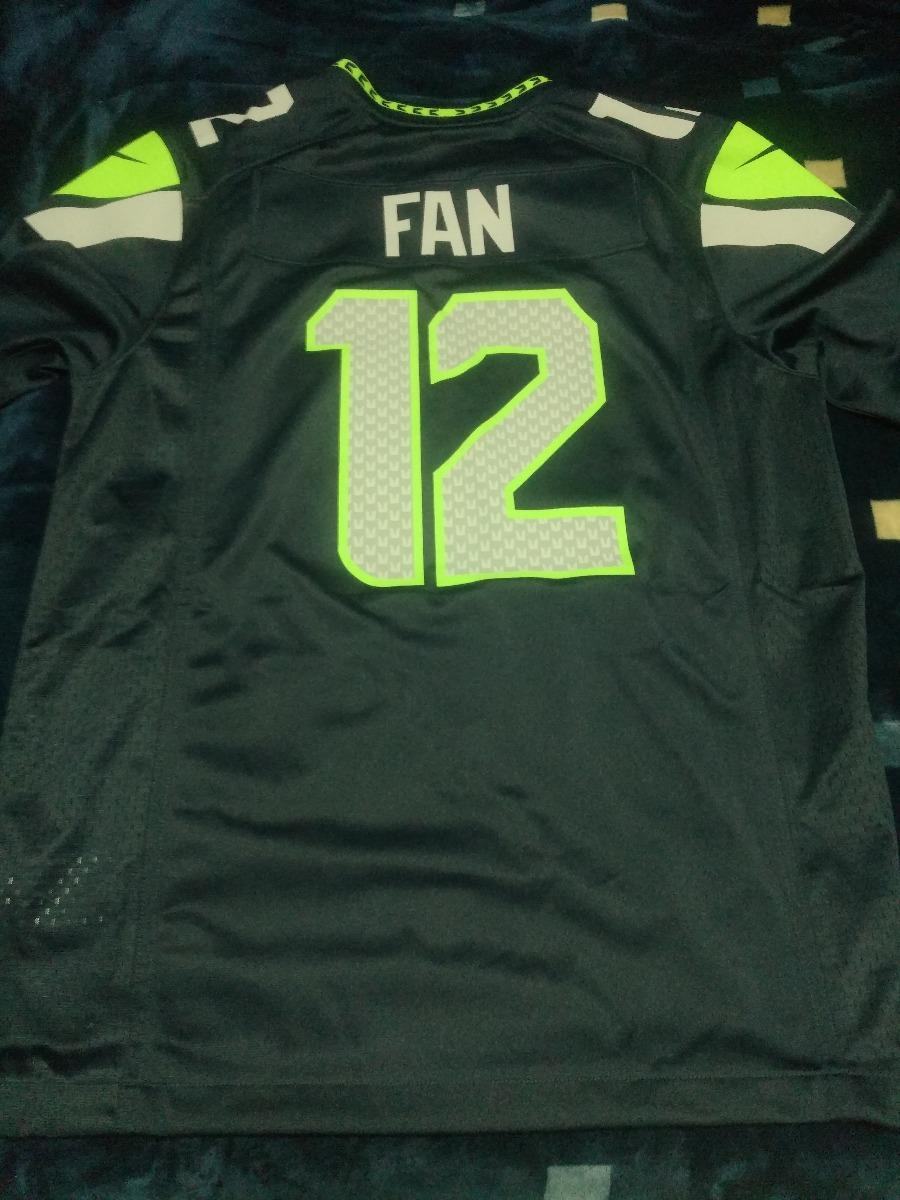 online retailer 6bb58 e463a Jersey Seattle Seahawks #12 Fan (mediano) /original Nike Nfl