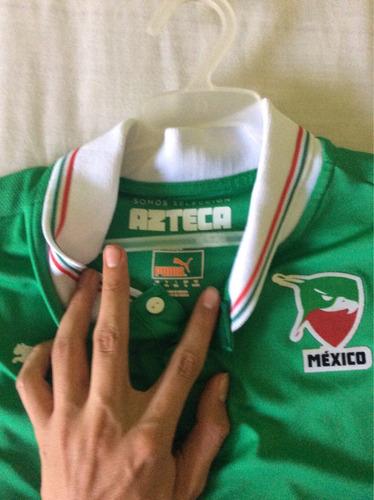 jersey selección azteca werevertumorro talla ch adulto
