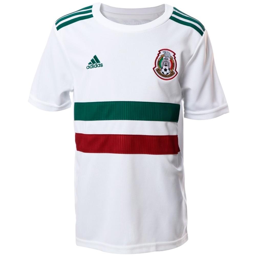 jersey seleccion de mexico visitante niño adidas bq4687. Cargando zoom. f7b99ff3ed7a5
