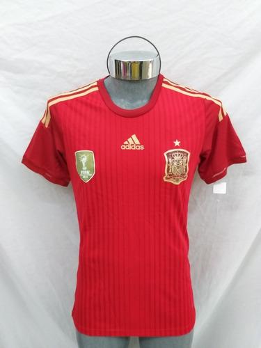 jersey selección españa 2014 local
