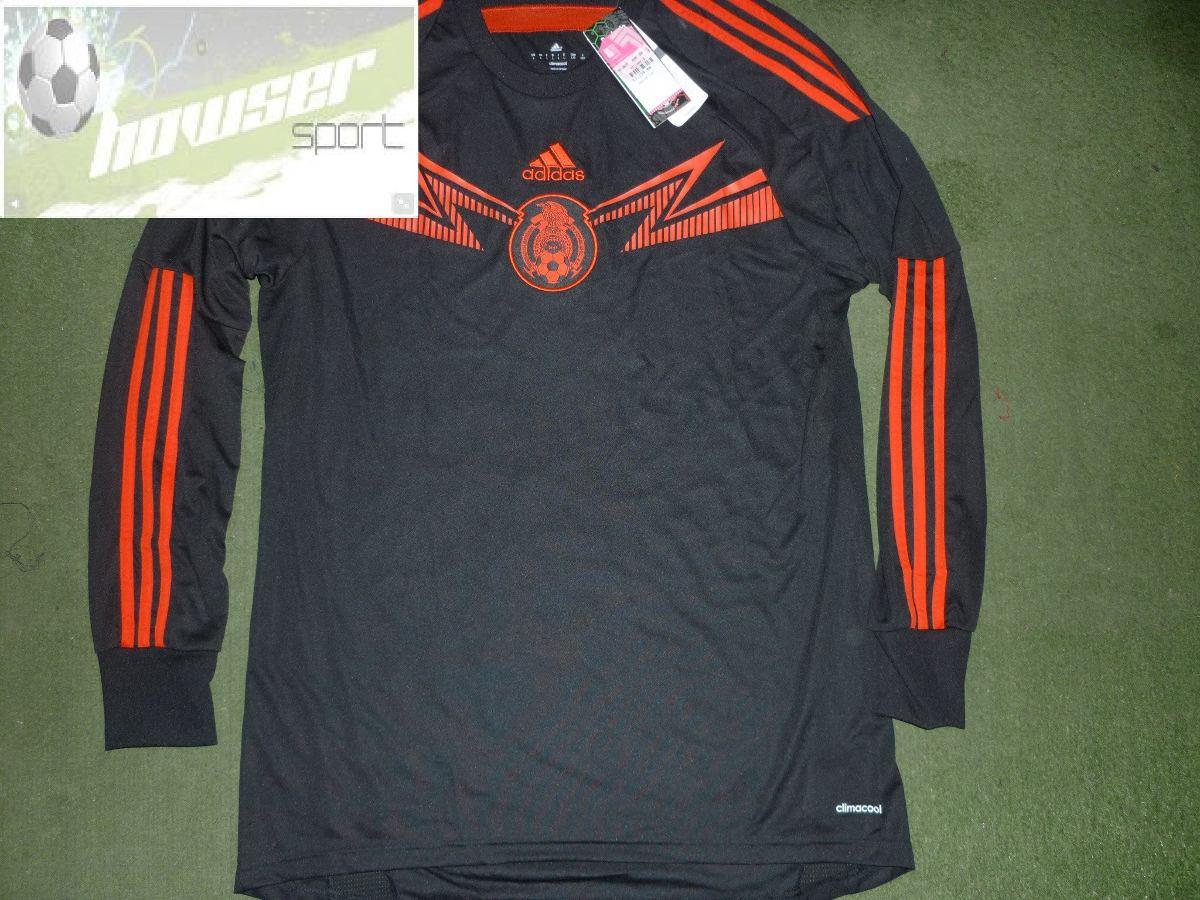 Jersey adidas Seleccion Mexicana D Futbol 2014 De Portero -   649.00 ... 7aed9769d09ee