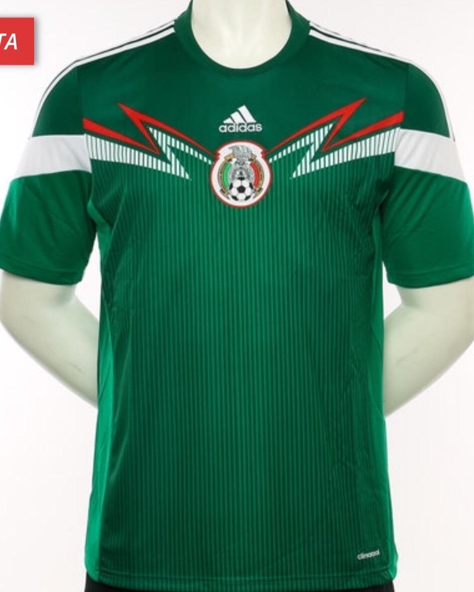 6f690670643f9 Jersey Selección Mexicana 2014 México Local Verde -   548.00 en ...