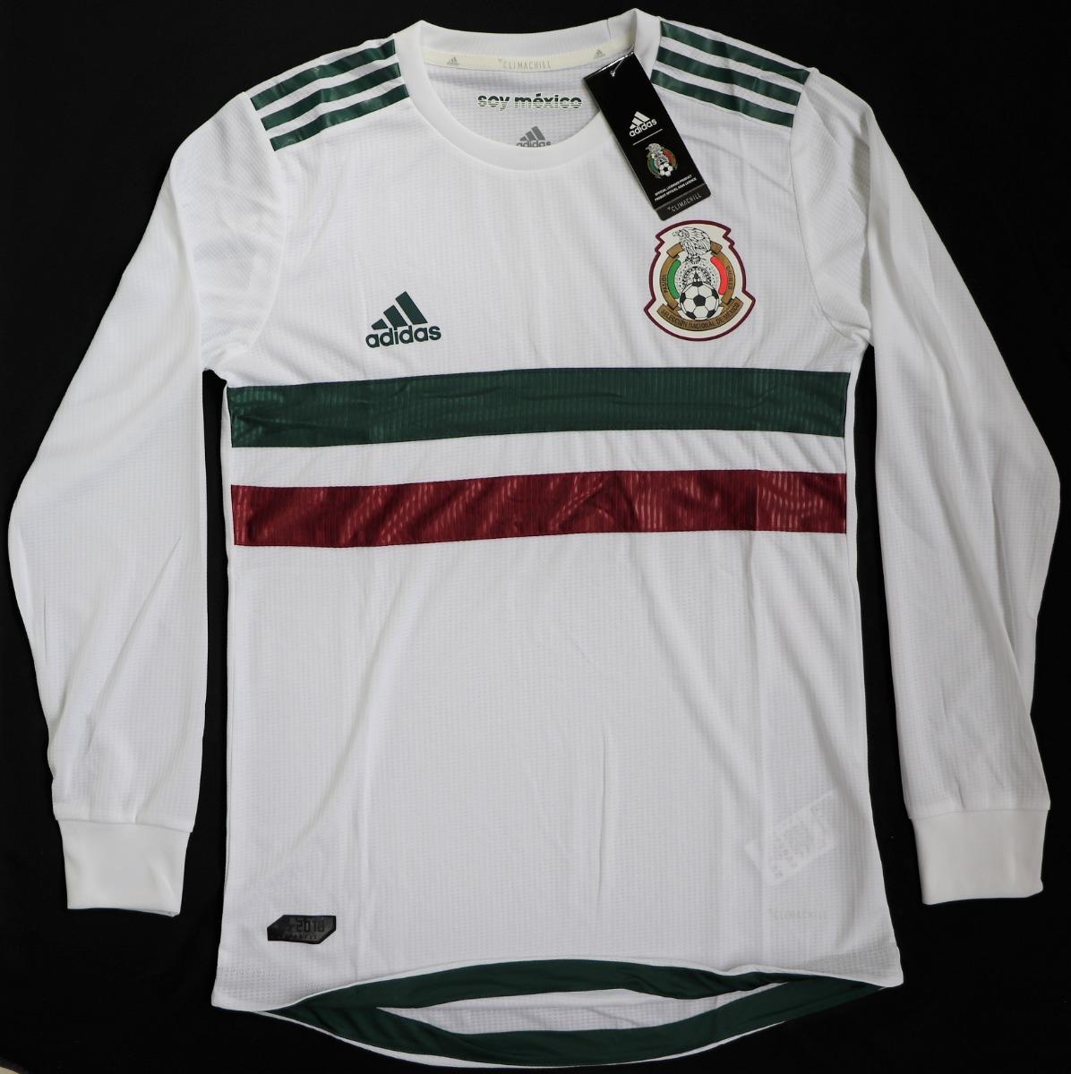 f6c947e7b15f7 jersey selección mexicana 2018 versión jugador manga larga. Cargando zoom.