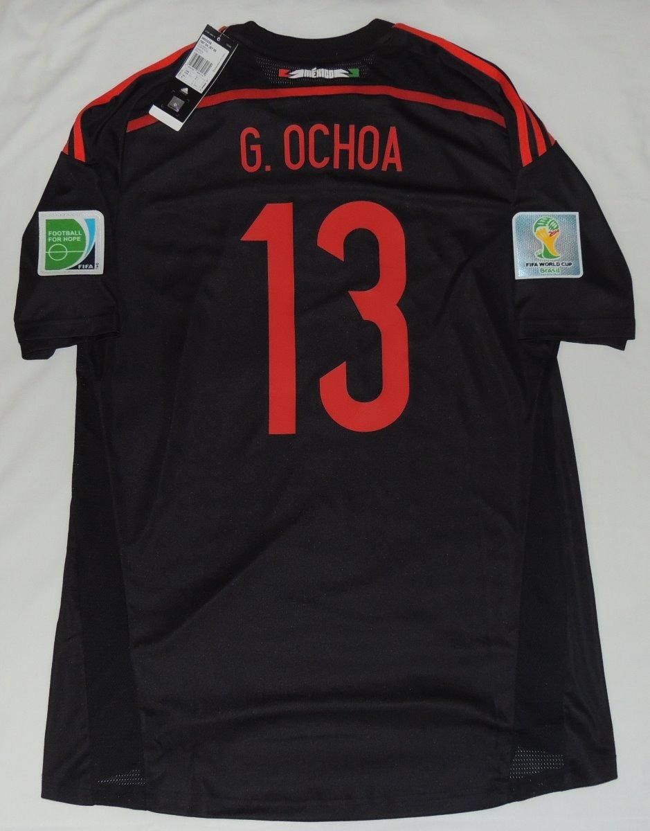 jersey seleccion mexicana mundial 2014 guillermo ochoa 13. Cargando zoom. a647af47d99ac