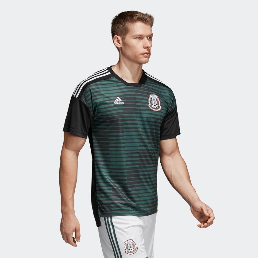 Jersey Prepartido Selección De México Local 2018 f0f7ef6d60ecd
