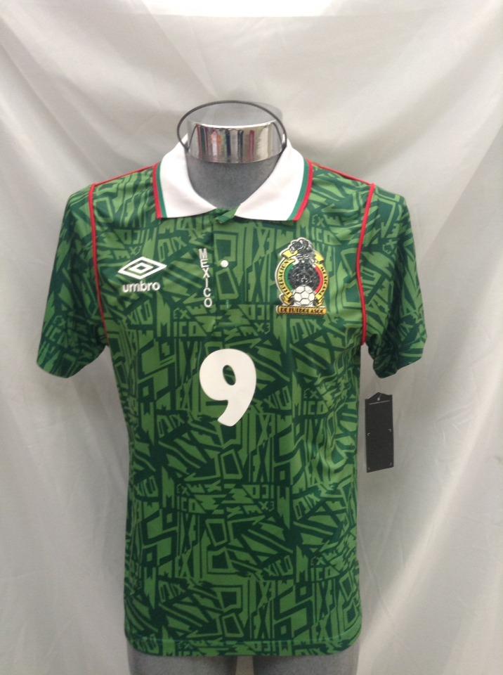 9995b718b7357 Jersey Selección México Mundial 1994 Hugo Sánchez -   599.00 en ...