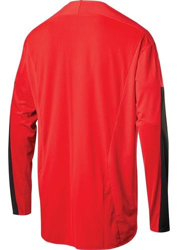 jersey shift 3lack label race 1 rojo/negro mtb mountain bike