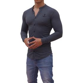 Jersey Shirt John Leopard Super Slim Fit Big Logo Ajustado