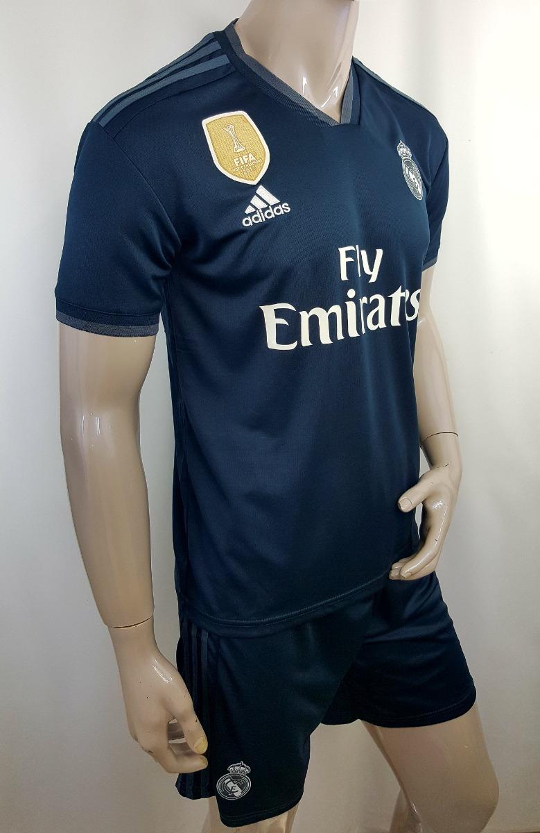 Jersey + Short Real Madrid Nuevo 2018 Visitante Remate -   399.00 en ... 7ba8321866e17