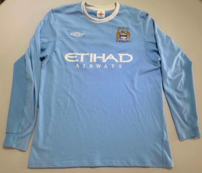 detailed look 8befe 105a1 Jersey Soccer Retro Manchester City L 36