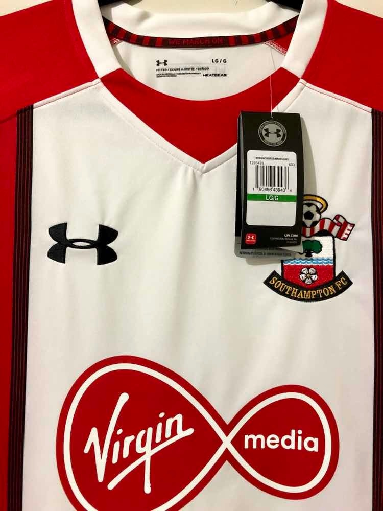 detailed pictures 42c8a 23ab3 Jersey Southampton Fc De Inglaterra Marca Under Armour