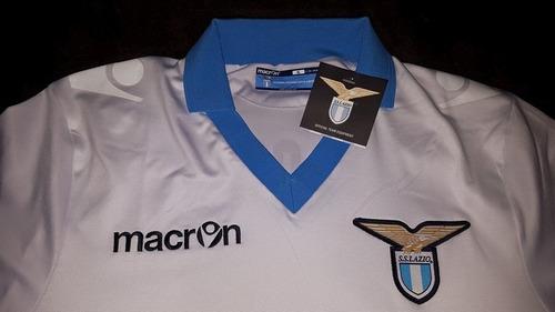 jersey ss lazio calcio italia macron edicion 115 aniv 2015
