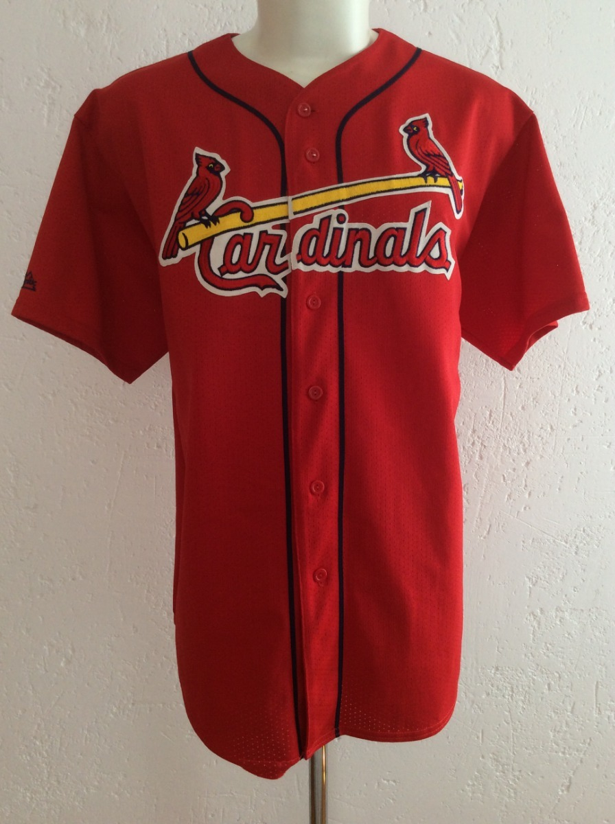 watch 6c313 081dd Jersey St. Louis Cardinals #25 Mark Mcgwire Majestic Años 90 - $ 999.00