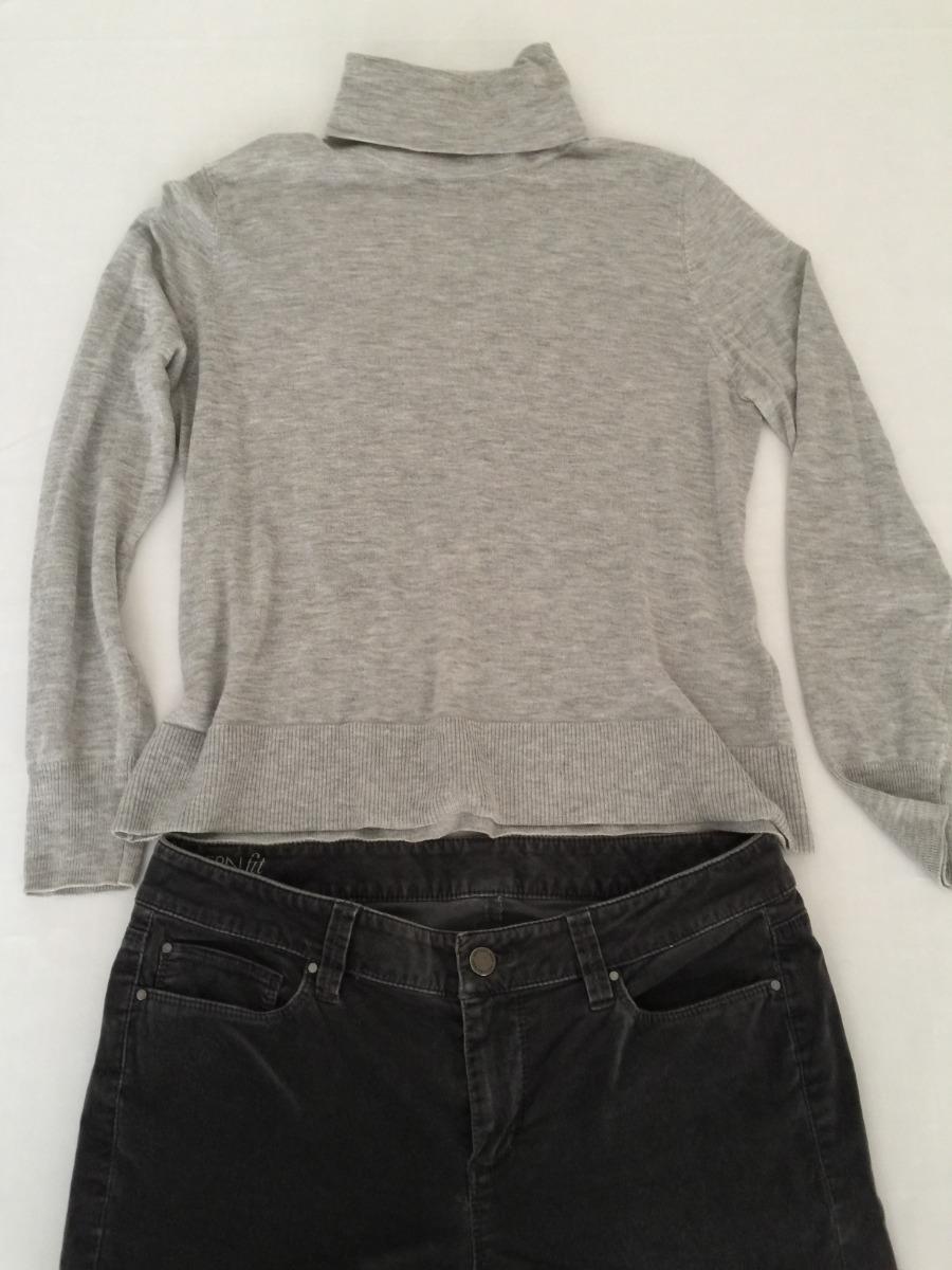 Jersey Suéter Mujer Zara Talla 28 Cuello De Tortuga $ 189.00