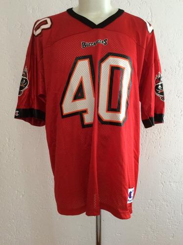 jersey tampa bay buccaneers #40 alstott vintage champion nfl