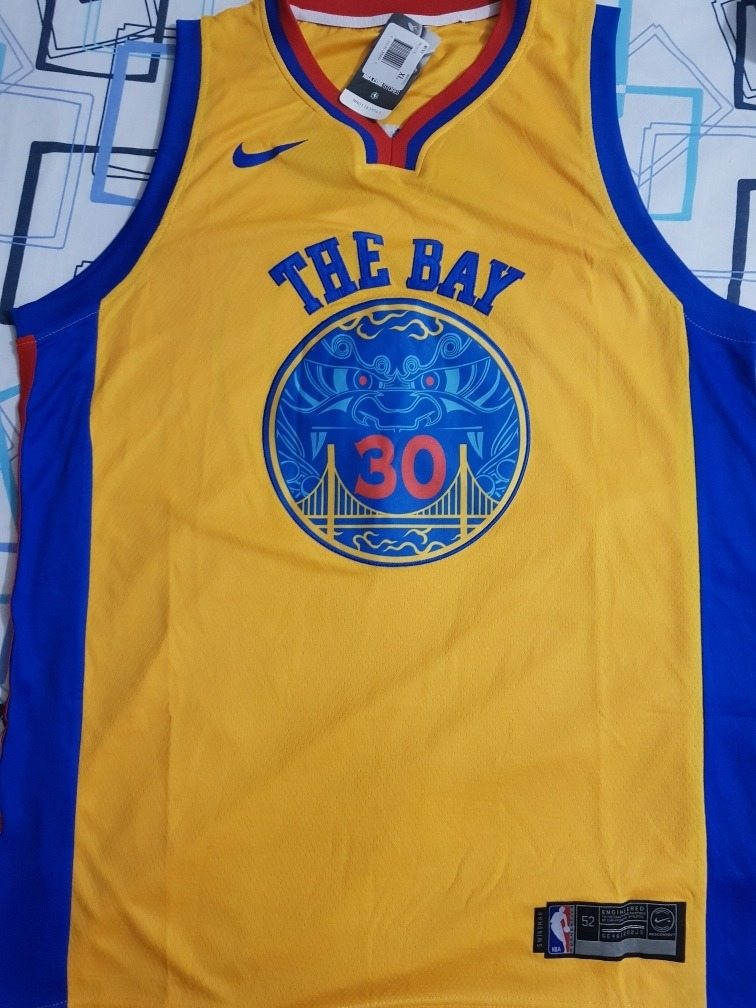 competitive price 5fb09 289a5 Jersey The Bay Curry Talla Xl