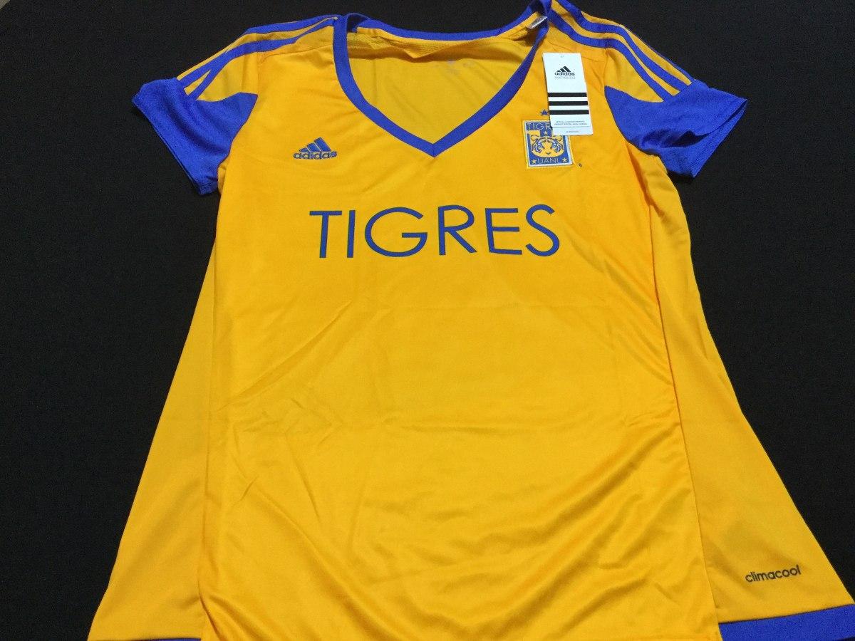 Jersey Tigres Uanl 2016 adidas Local Climacool -   450.00 en Mercado ... 4359a4c01764a