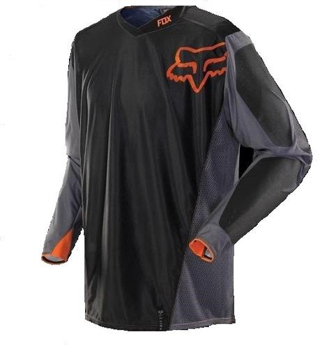 jersey todoterreno fox racing legion 2015 gris/naranja sm