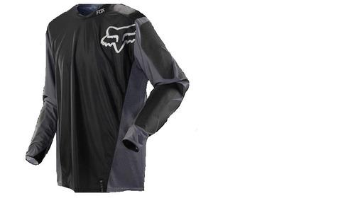 jersey todoterreno fox racing legion 2015 negro/gris md